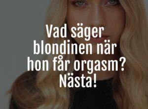 blondin skämt 2