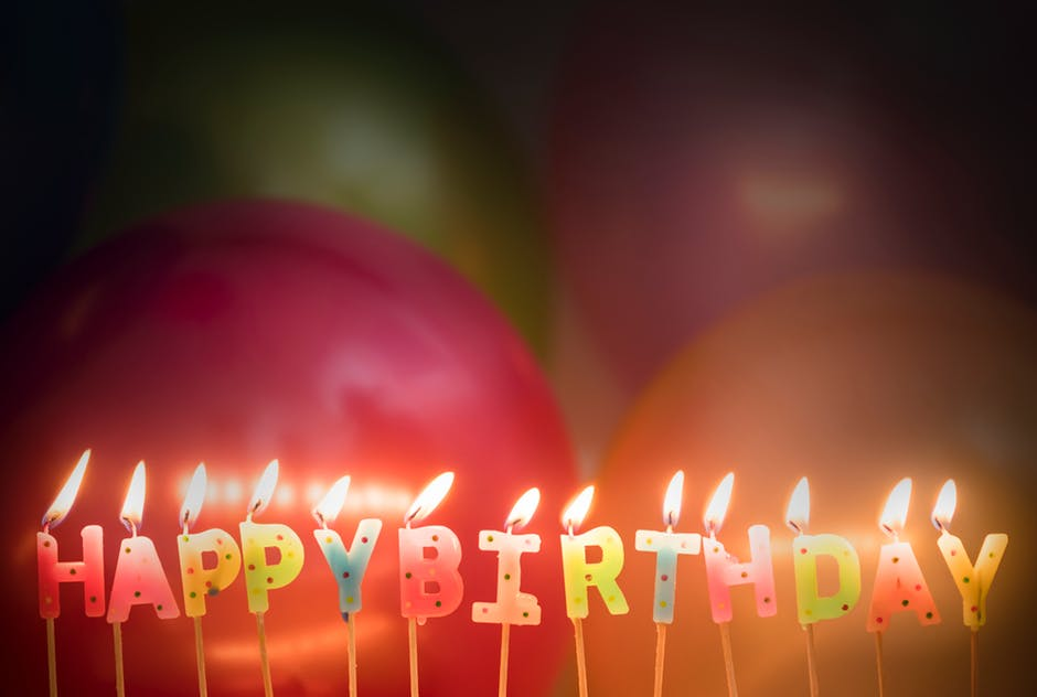 Ett Jätte Födelsedagsgrattis Till Dig